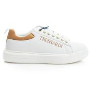 Trussardi YRIAS 79A00551 9Y099999 W719 WHITE/LEATHER