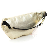 Superdry METALLIC BUM BAG W9110012A R0R GOLD FOIL