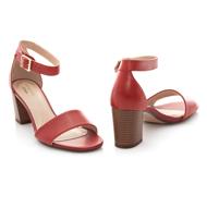 Clarks Jocelynne Cam 26159415 Red Leather