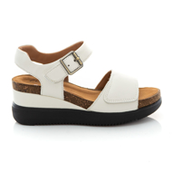 Clarks Lizby Strap 26159185 White Leather