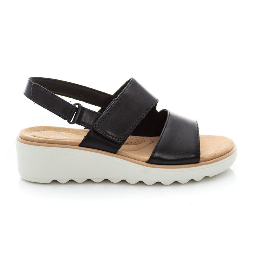 Clarks Jillian Pearl 26157734 Black Leather